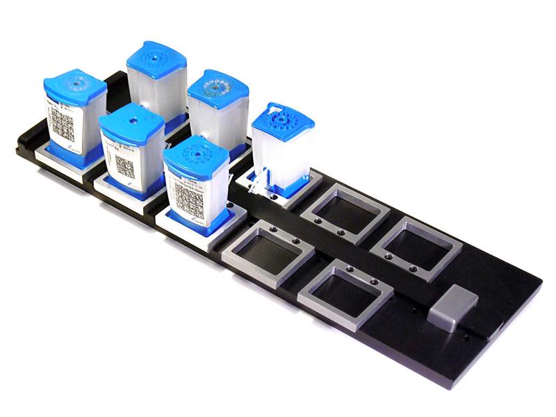 posicionadores para robots mecanizados en aluminio