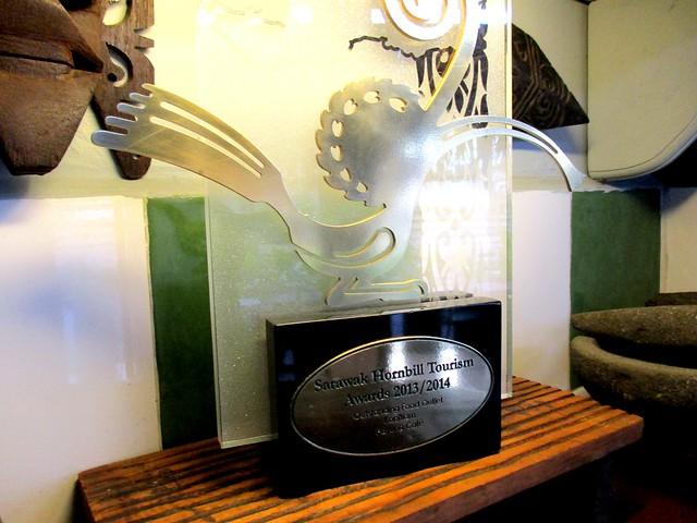 Payung Cafe Sarawak Hornbill Tourism Award 1