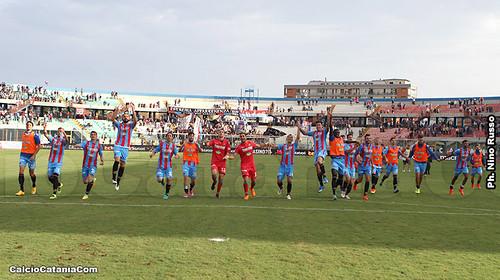Catania-Lecce 2-0: Salto in alto$
