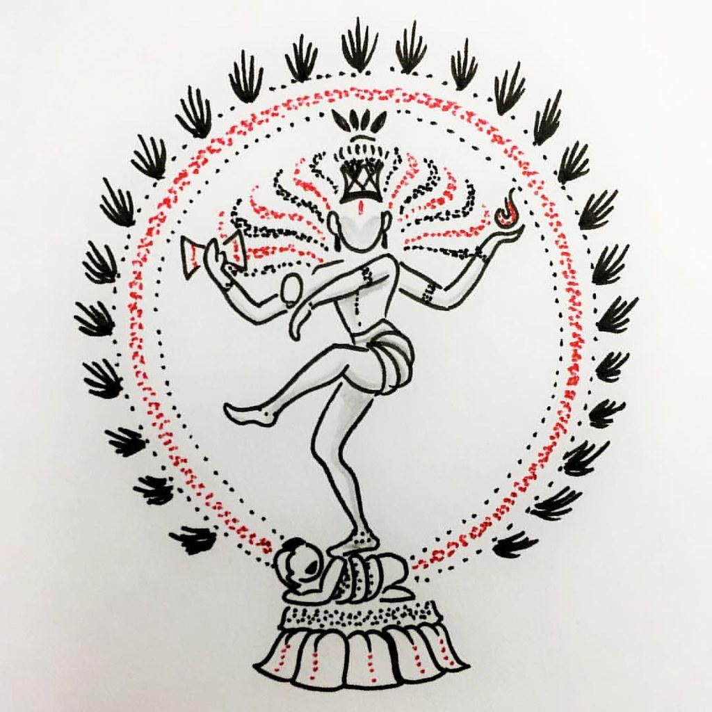 #Small #Natraj #Tattoo #Design #Available for #comission ...