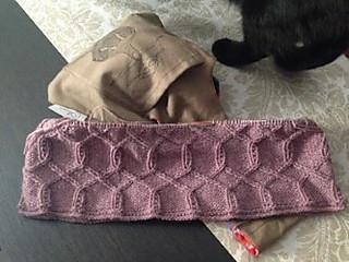Gola tricotada em Mongólia3 da Fonty, pela Isabelita