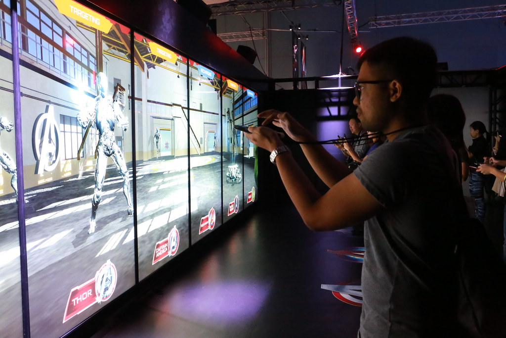 MARVEL'S AVENGERS S.T.A.T.I.O.N. Exhibition Premieres in Singapore