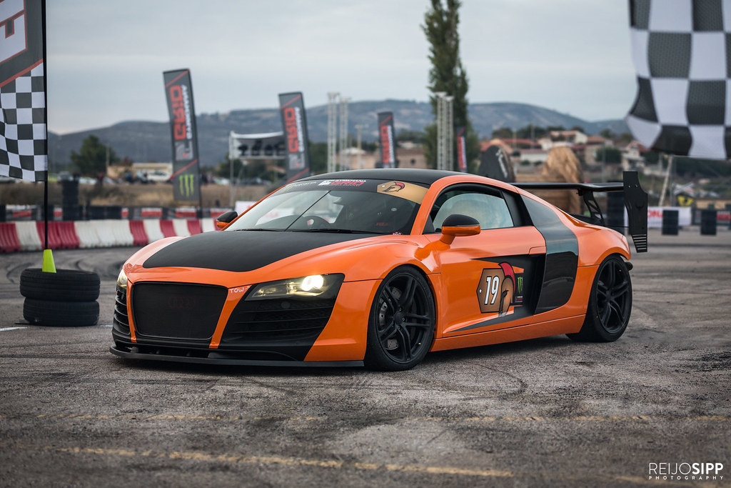R8 Audi R8 Gymkhana Grid Finals Marathonas Greece