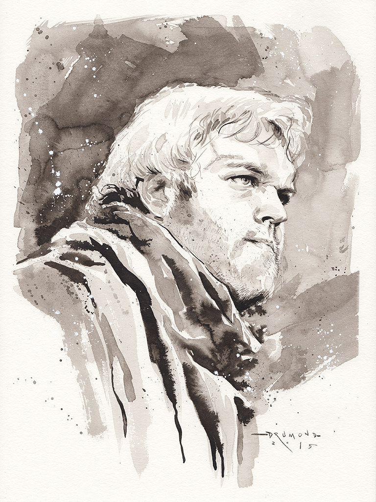 Game of Thrones by Drumond Art - Hodor