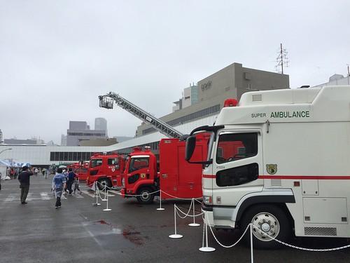防災パーク2015@渋谷NHK放送センター
