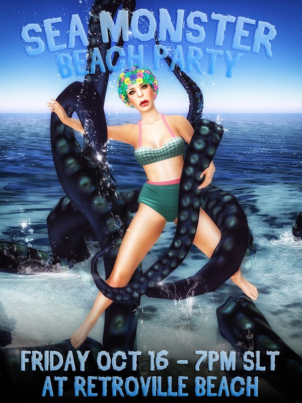 Sea Monster Beach Party