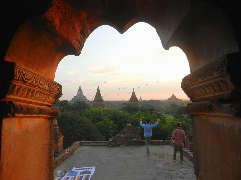 Рассвет в Багане