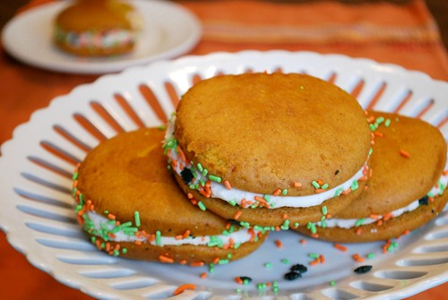 Pumpkin Maple Whoopie Pies