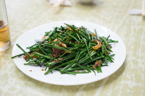 蝦乾炒韮菜