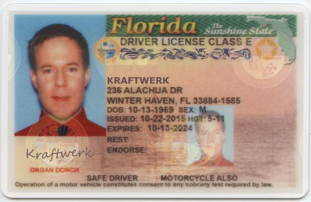 Kraftwerk Driver's License