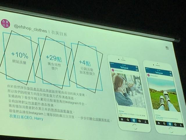 [筆記] Facebook行銷高峰會的四大關鍵字:電商、影音、競價、Instagram