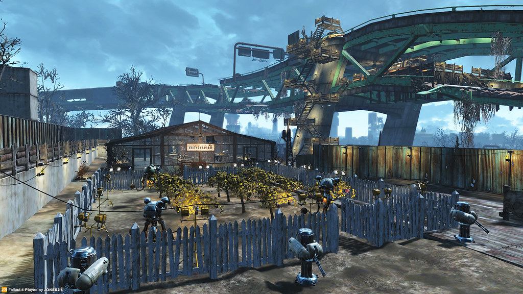 Fallout  Factory Building