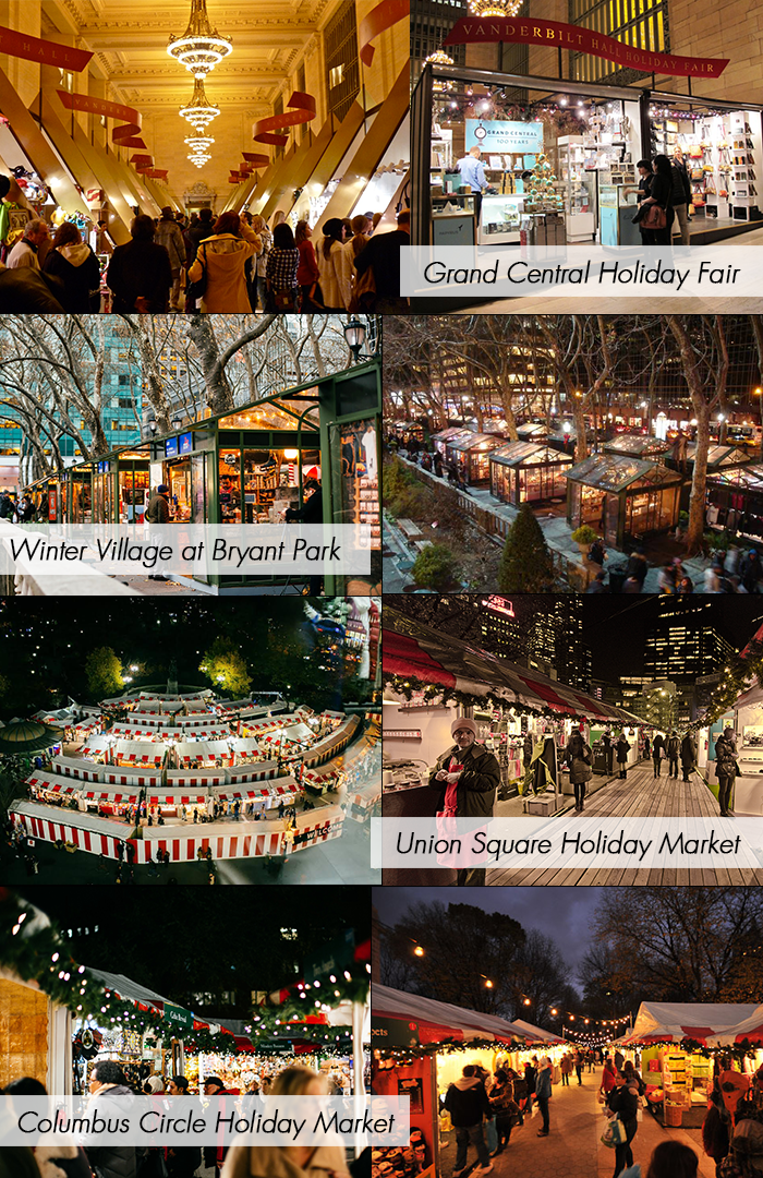 Christmas Market New York City.Christmas In New York 4 Markets To Check Out In Manhattan