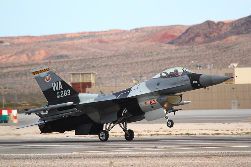 IMG_4821 F-16 of the 64th Aggressor Squadron