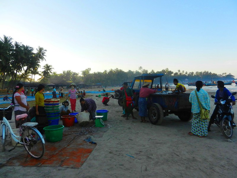 Мьянма море