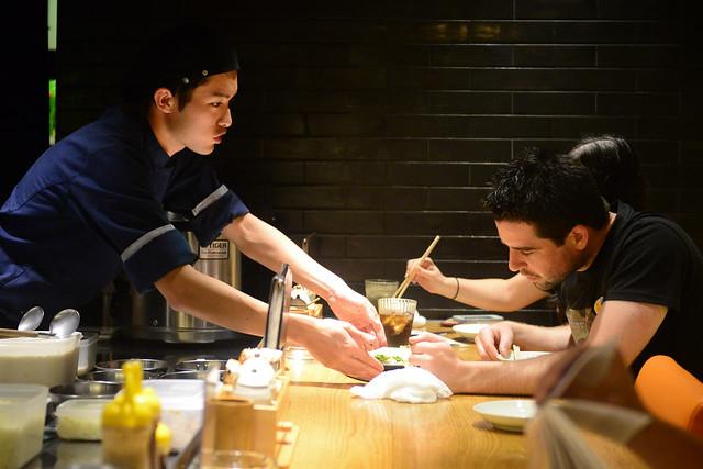 Eligiendo qué comer en Japón