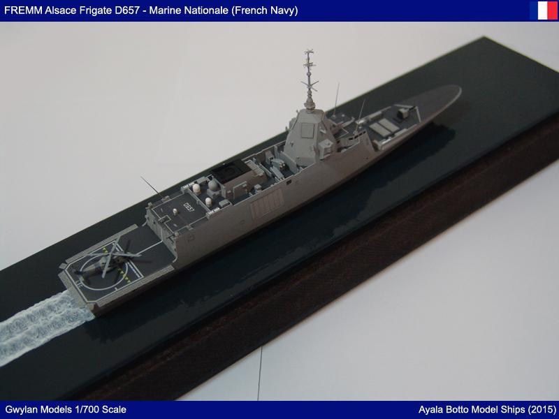 FREMM Alsace D657 ER FREDA AAW Frégate Gwylan Models 1/700 23733587339_6420dcbd9d_o
