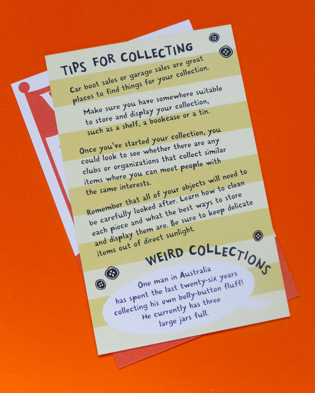 tips for collecting - the very arty box