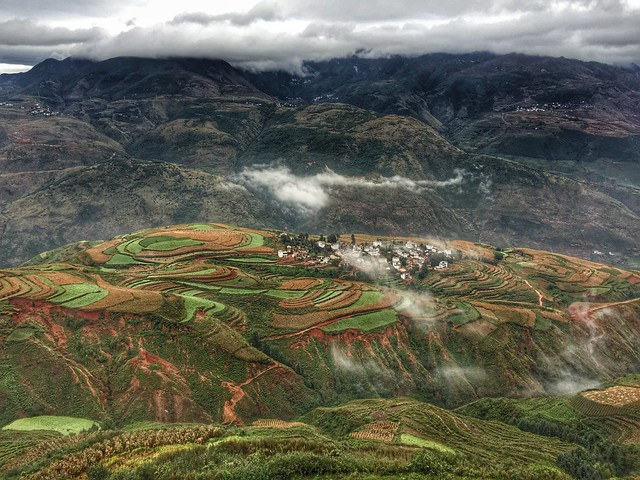 Tierras rojas de Dongchuan (Yunnan, China)
