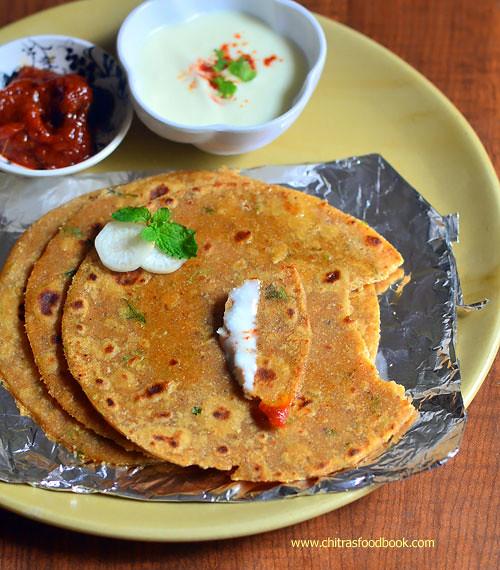 Easy radish paratha recipe