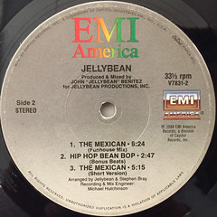 JELLYBEAN:THE MEXICAN(LABEL SIDE-B)