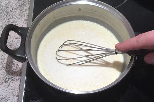 50 - Verrühren & aufkochen lassen / Mix & bring to a boil