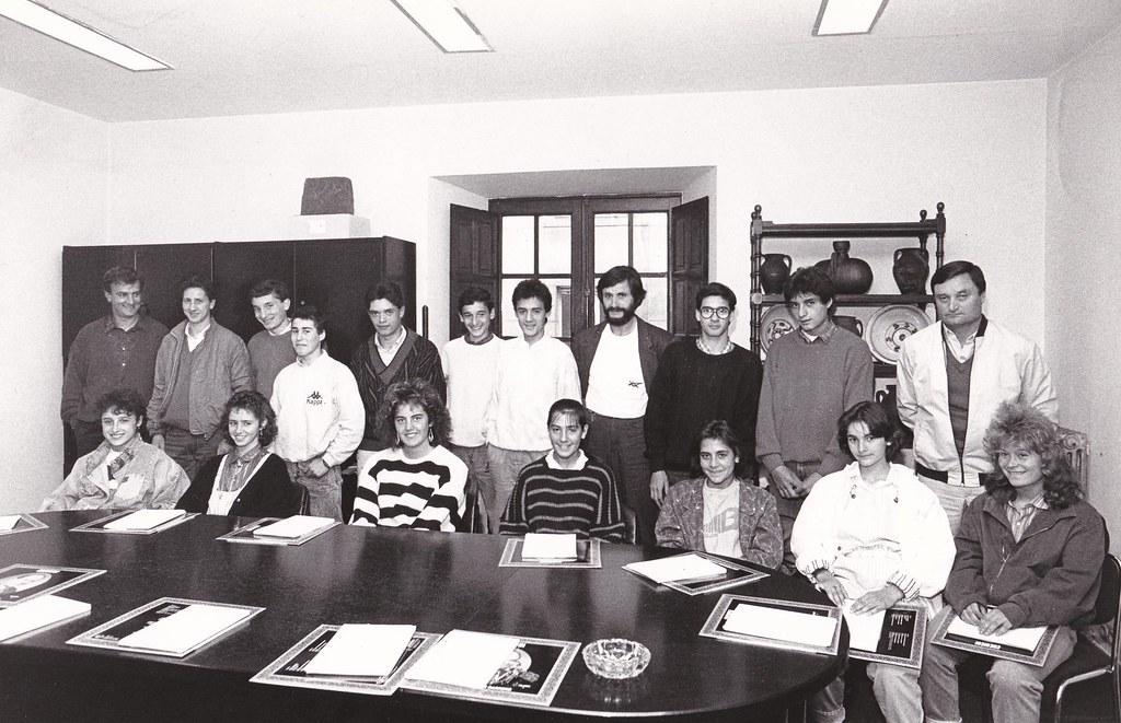 El equipo asturiano, masculino y femenino. Foto 019.