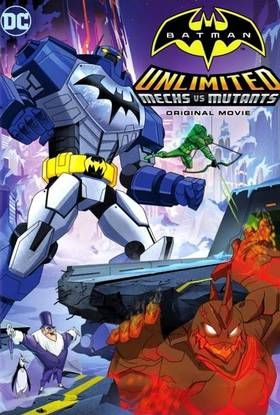 Betmenas: robotai prieš mutantus / Batman Unlimited: Mechs vs. Mutants (2016)