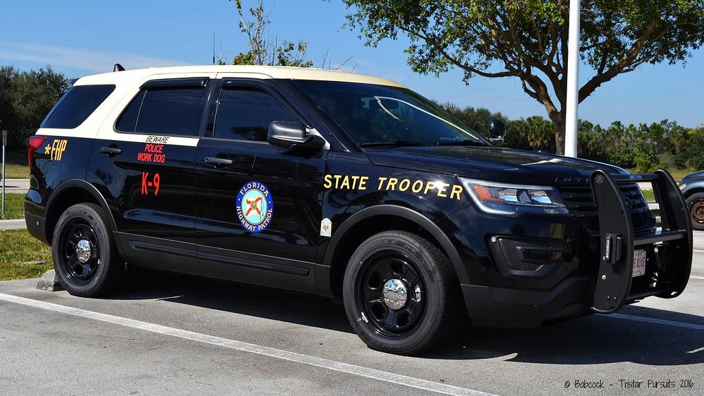 Florida Highway Patrol - 2016 Ford Interceptor Utility ...