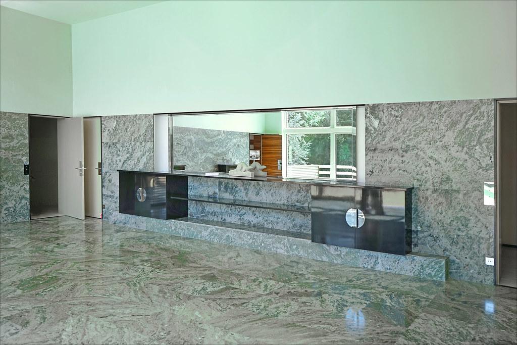 la desserte de la salle manger villa cavrois croix flickr. Black Bedroom Furniture Sets. Home Design Ideas