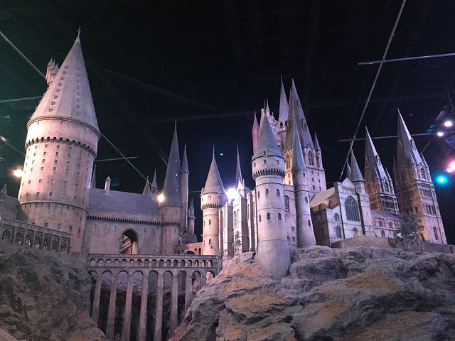Hogwarts model Harry Potter studio