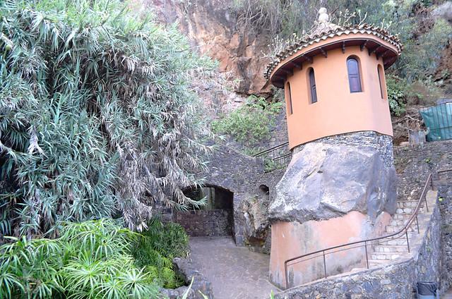 The grotto, Los Lavaderos gardens, El Sauzal, Tenerife