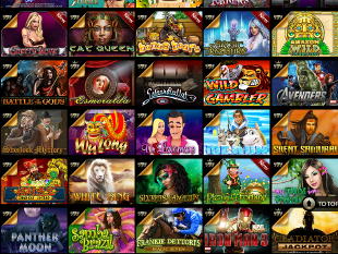 EuroGrand Mobile Casino Lobby