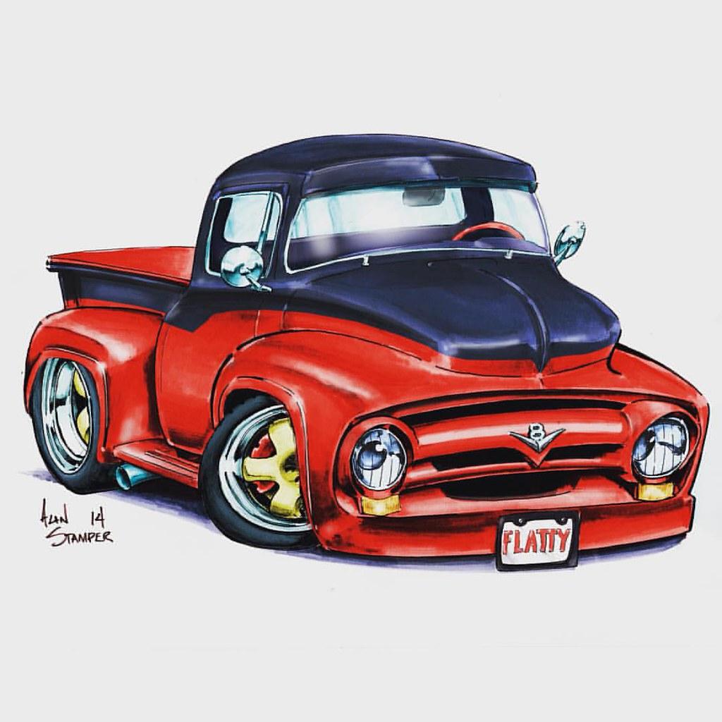 Hot Rod Cartoons Drawings Hot Girl Hd Wallpaper