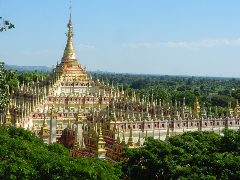 Thanboddhay Монива, панорама
