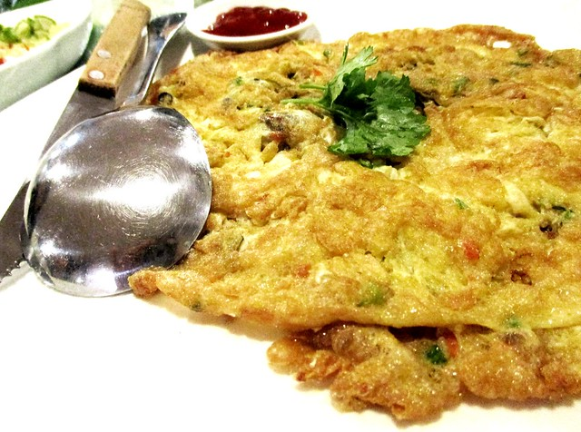 Flavours Thai Kitchen oyster omelette