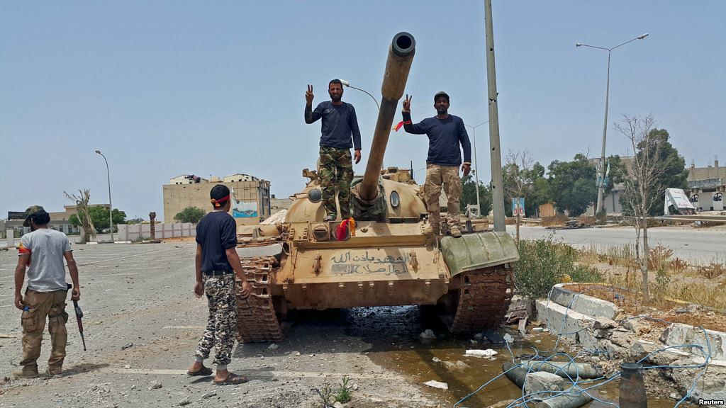 Eastern Libyan National Army Claims Benghazi Advance