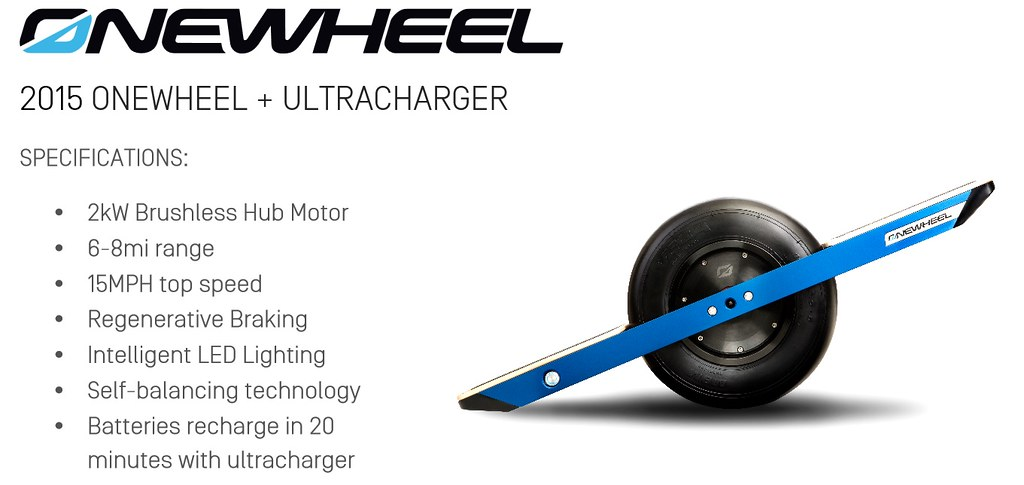 New Future Motion Onewheel Electric Self Balancing Off