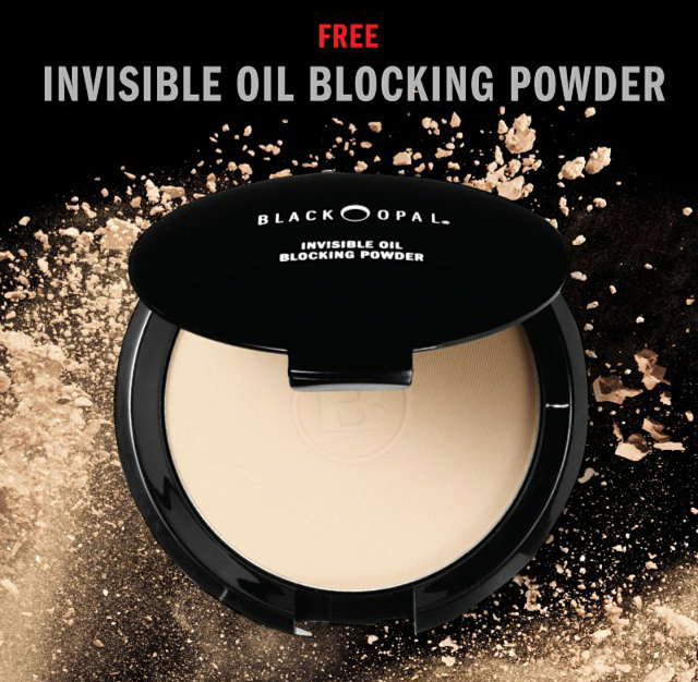 Get Black Opals Invisible Oil Blocking Powder For Free When You