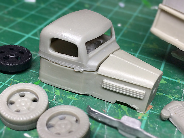 Minairons 1937 Chevrolet 1 5ton truck - part 2 - Kit Noob