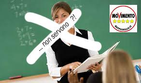 servono gli insegnanti per i 5 stelle?