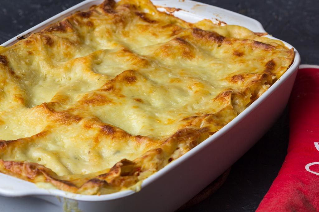 Kürbislasagne vegetarisch via lunchforone
