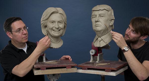 川普和希拉蕊的差異是新的法西斯主義和舊的政治寡頭的差異。(資料來源:東方IC)