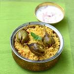 Brinjal Biryani Recipe