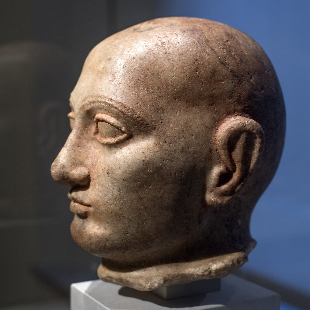 Portrait Head Of Shulgi King Of Ur 4 Reigned 2029