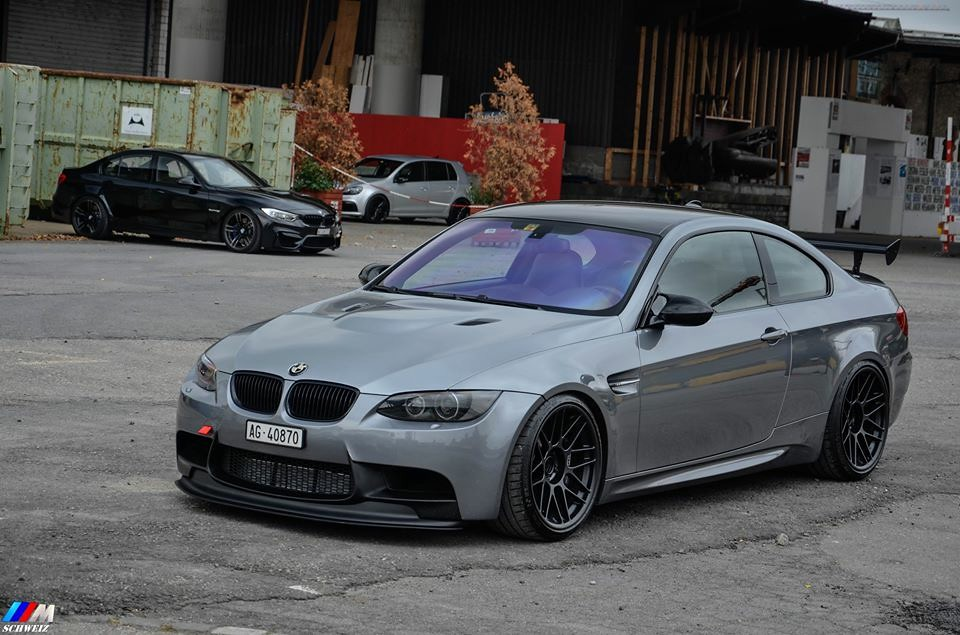 Bmw E92 M3 With 19 Quot Arc 8 Wheels Apexraceparts Flickr