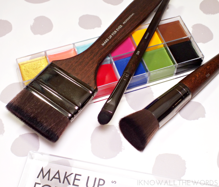 make up for ever brushes 412, 154, 228