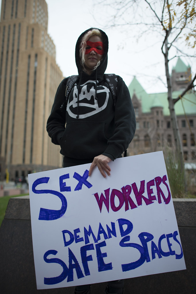 Sex Workers Demand Safe Spaces  Minneapolis, Minnesota -6409