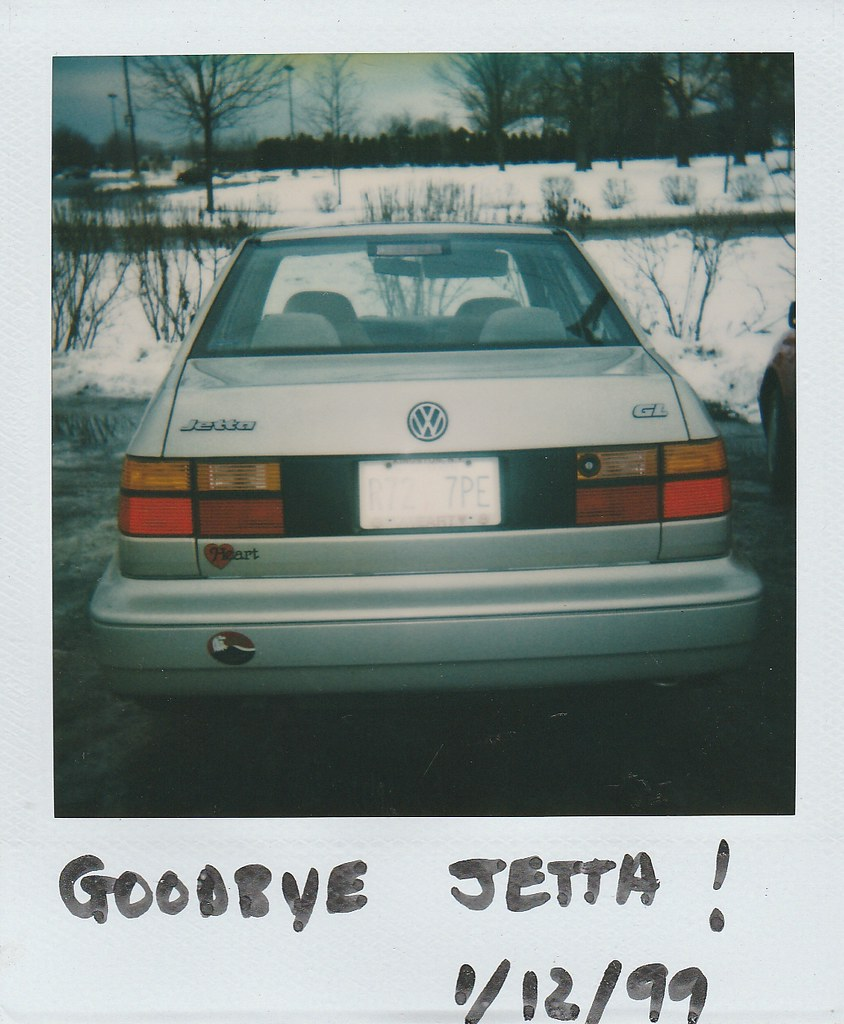 The Last Day Of The 1997 Vw Jetta In Jan 1999 On Jan 12