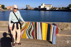 Mosaic Couch on the Marina Channel IMG_1148